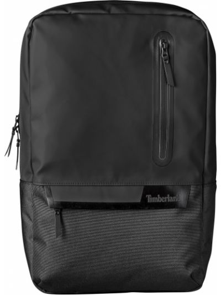 Стеганый черный рюкзак для ноутбука на молнии Timberland