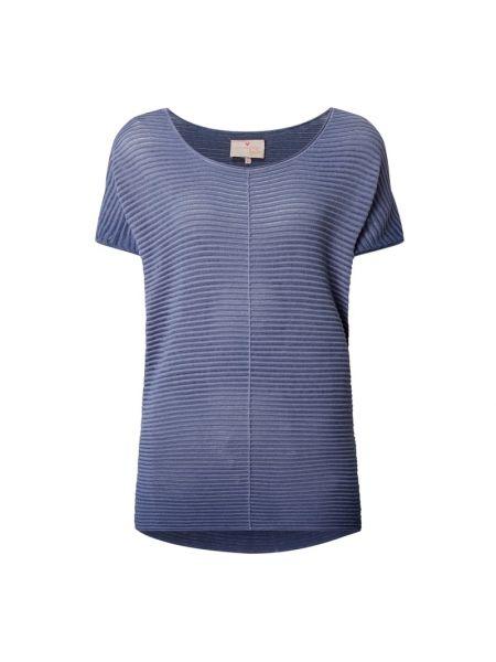 Sweter bawełniany - niebieski Lieblingsstück