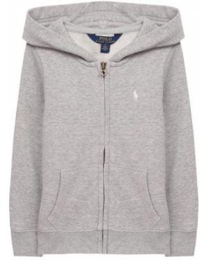 Кардиган серый с капюшоном Polo Ralph Lauren