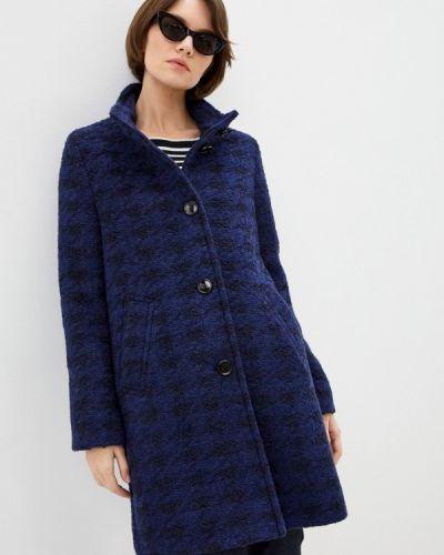 Синее пальто Boss