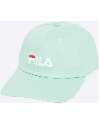 Зеленая кепка Fila