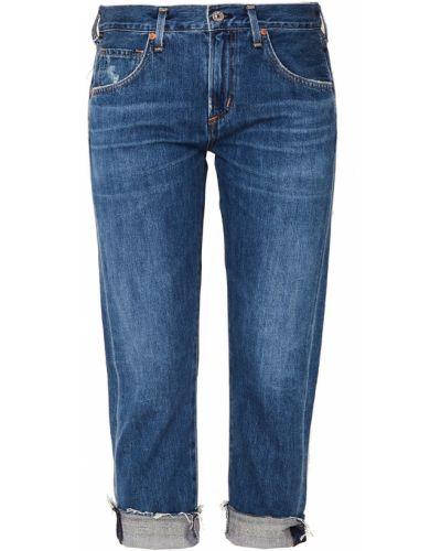 Укороченные джинсы классические с подворотами Citizens Of Humanity