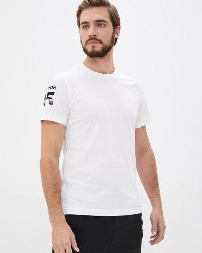 Белая футболка Reebok