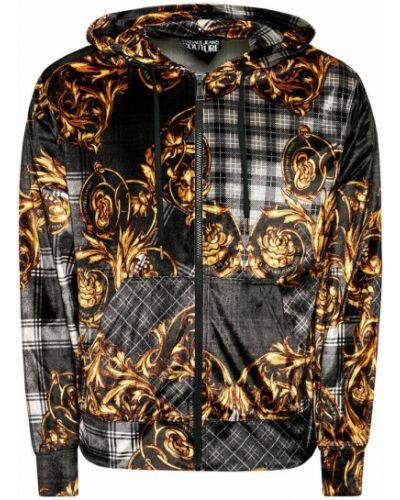 Szara bluza Versace Jeans Couture