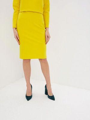Юбка карандаш желтый Ruxara