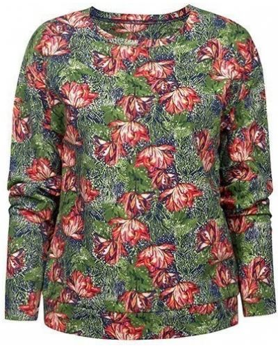 Джемпер с поясом с цветочным принтом Pelican