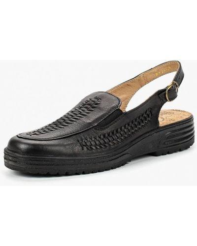Черные босоножки на каблуке Shoiberg