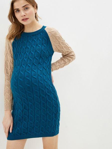 Платье - бирюзовое мамуля красотуля ..в ожидании чуда