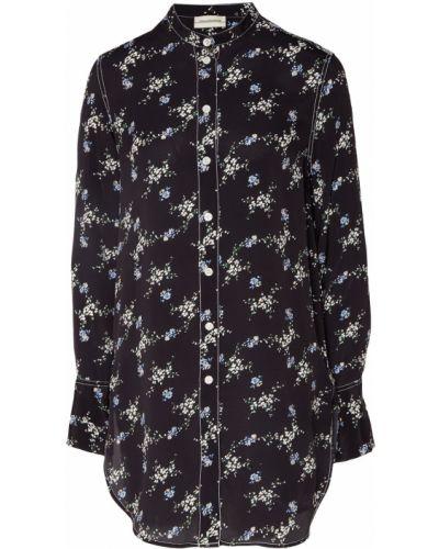 Рубашка с длинным рукавом с принтом с воротником-стойкой By Malene Birger