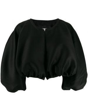 Черная короткая куртка Toteme