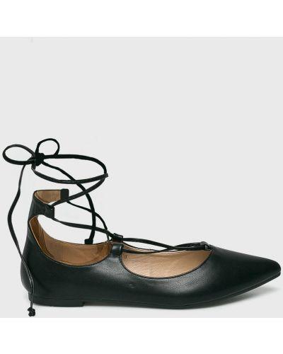 Черные балетки Answear