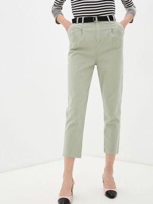 Зеленые брюки повседневные Grafinia