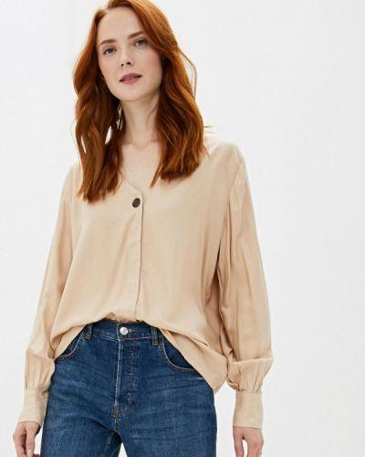 Блузка с длинным рукавом бежевый Sela