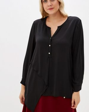 Блузка черная итальянский Kitana By Rinascimento