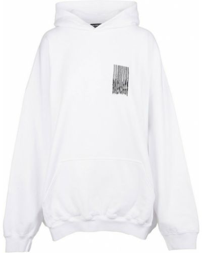 Biały sweter Balenciaga