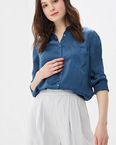 Блузка синяя индийский Rodier