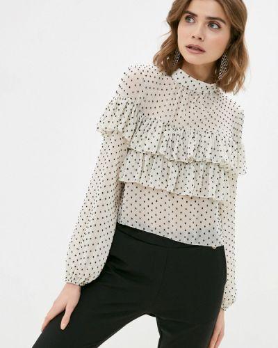 Белая блузка с длинными рукавами Rinascimento