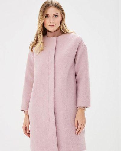 Фиолетовое пальто с капюшоном Pepen