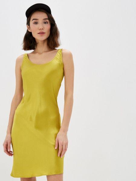 Платье прямое зеленый Lime