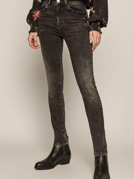 Хлопковые облегающие джинсы с карманами Medicine