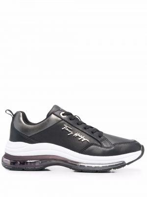 Черные резиновые кроссовки Tommy Hilfiger