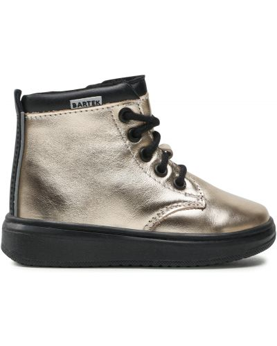 Ботинки - золотые Bartek