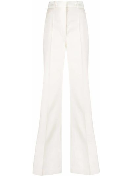 С завышенной талией белые брюки с карманами Joseph