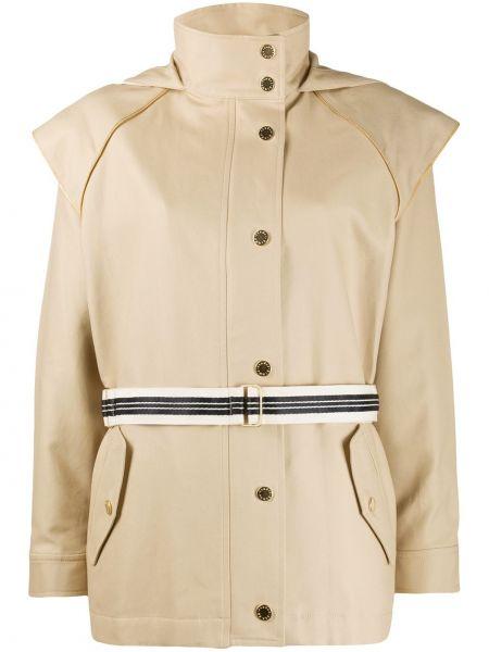 Куртка с капюшоном на молнии на пуговицах Sandro Paris