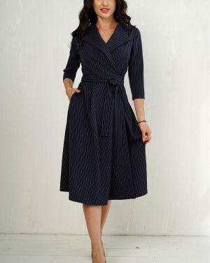 Платье с поясом в полоску платье-сарафан Taiga