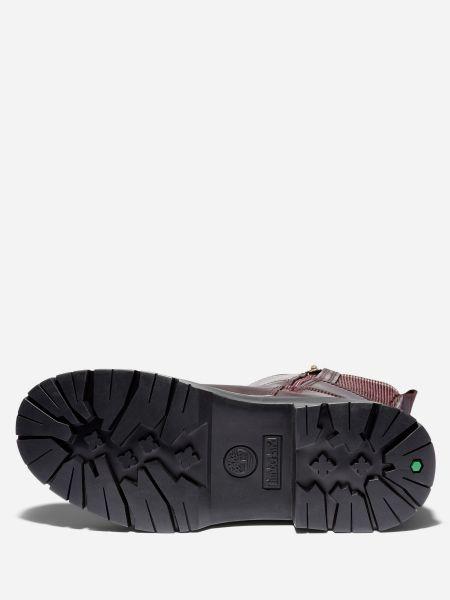 Водонепроницаемые красные кожаные ботинки челси Timberland