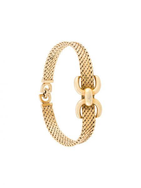 Браслет металлический - желтый Christian Dior Pre-owned