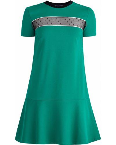 Платье мини с драпировкой спортивное Redvalentino