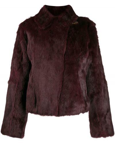 Фиолетовая длинная куртка Gianfranco Ferre Pre-owned