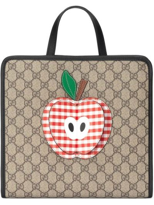 Beżowa torebka skórzana Gucci Kids
