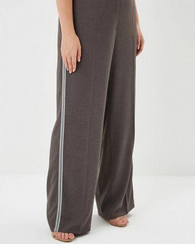 Серые брюки расклешенные Samoon By Gerry Weber