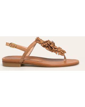 Sandały skórzany zamsz Stuart Weitzman