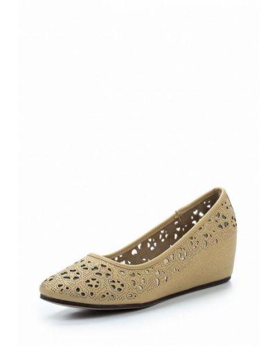 Кожаные туфли на каблуке Keddo