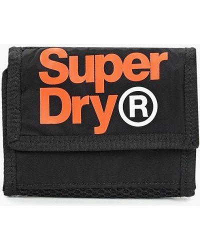 Черный кошелек Superdry