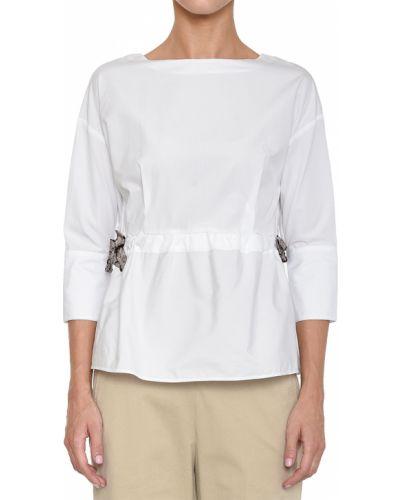 Блузка белая весенний Barba Napoli