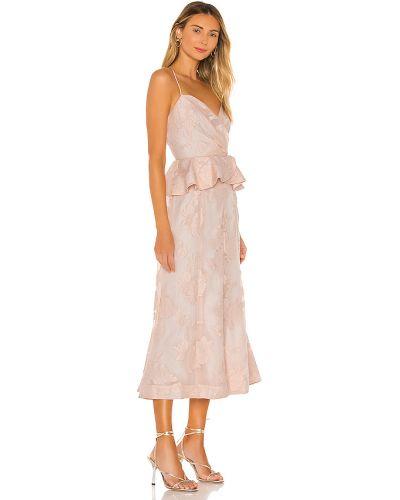 Sukienka midi na co dzień z nylonu Keepsake