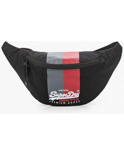 Поясная сумка - черная Superdry