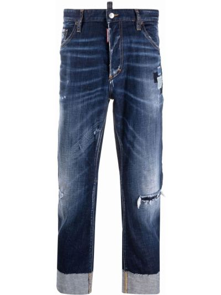 Синие джинсы классические Dsquared2
