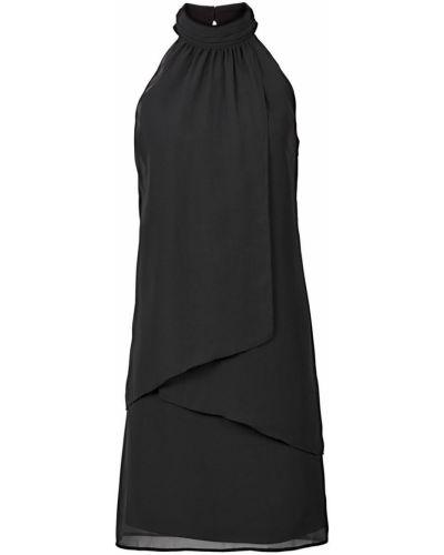 Коктейльное платье с воротником Bonprix
