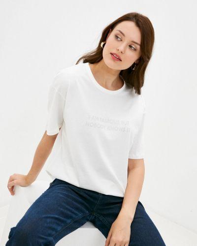 С рукавами белая футболка Befree