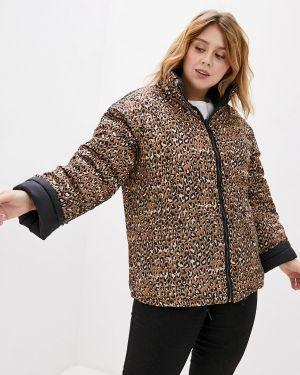 Утепленная куртка - черная Rosa Thea