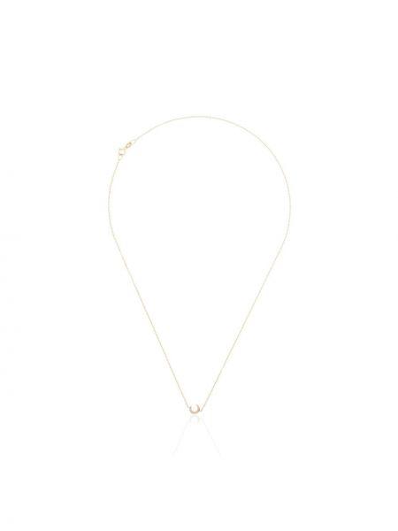 С ромбами золотистое желтое ожерелье с бриллиантом Lizzie Mandler Fine Jewelry