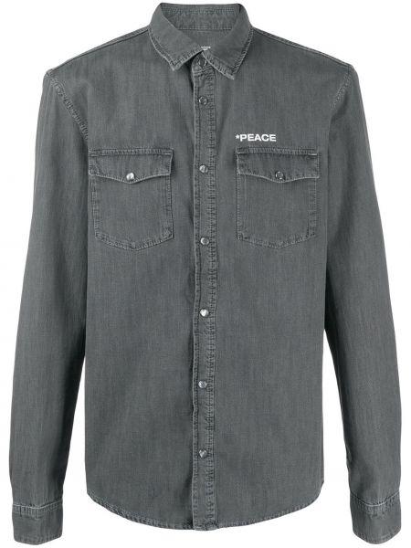 Koszula z długim rękawem klasyczna z łatami Zadig&voltaire