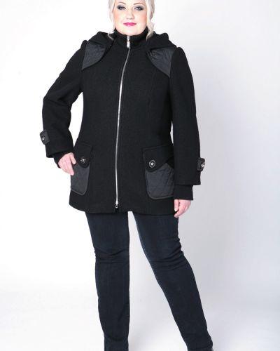 Куртка с капюшоном демисезонная черная Lacywear