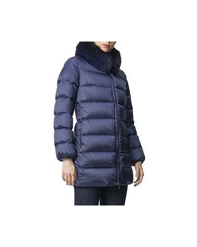 Куртка из полиамида - синяя Luisa Spagnoli