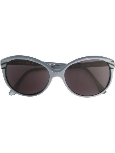 Прямые муслиновые солнцезащитные очки круглые Pierre Cardin Pre-owned